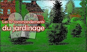 10commandements jardin