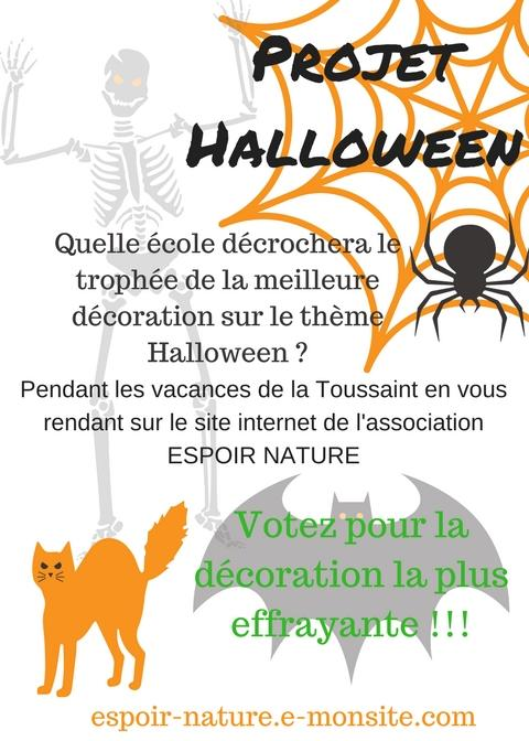 Projet halloween